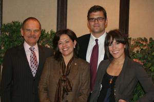 Ana Lopes and family